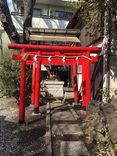 東京都寄木神社の鳥居