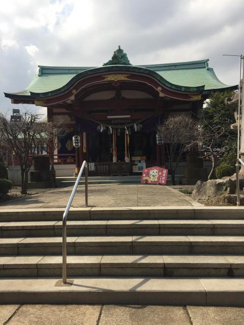 東京都千住神社の本殿