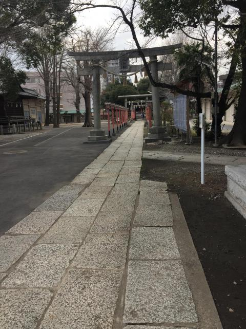 東京都千住神社の建物その他