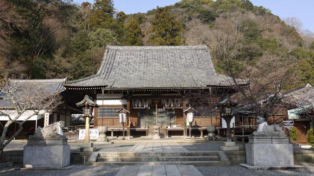 京都府法輪寺の本殿