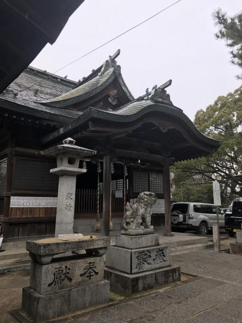 福岡県鳥飼八幡宮の建物その他