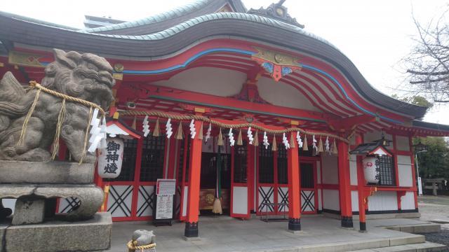玉造稲荷神社の本殿