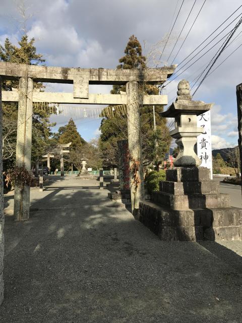 福岡県大己貴神社の鳥居