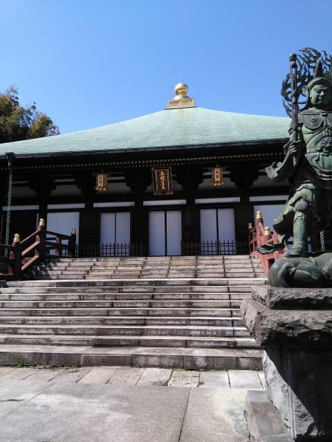 長勝寺の本殿