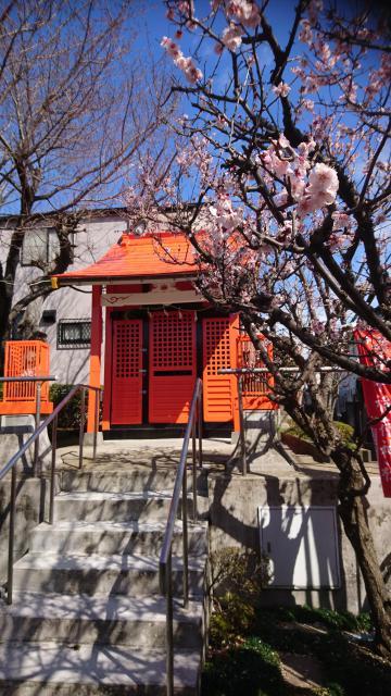 谷中稲荷神社の本殿