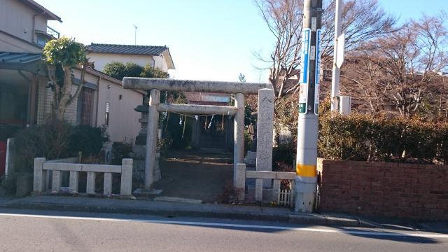 茨城県金比羅神社の鳥居