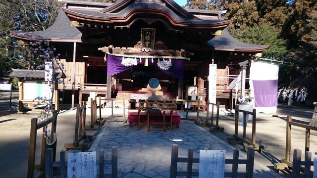 水戸八幡宮(茨城県常陸青柳駅) - 本殿・本堂の写真