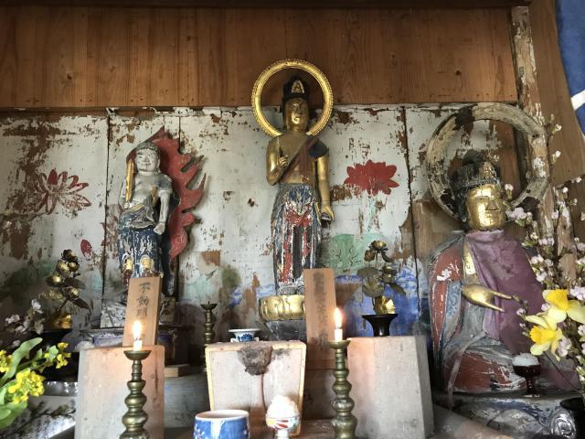 植深田観音堂の仏像