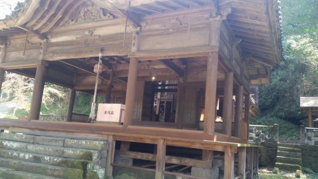 二宮八幡社の本殿