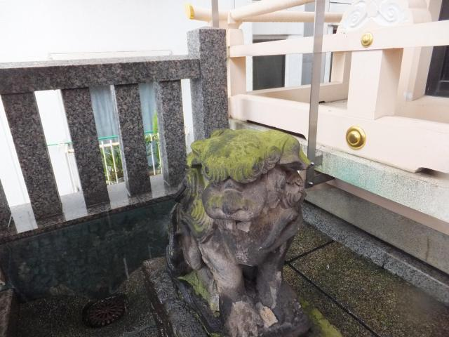 東京都稲荷神社の狛犬