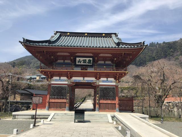 大阪府勝尾寺の本殿