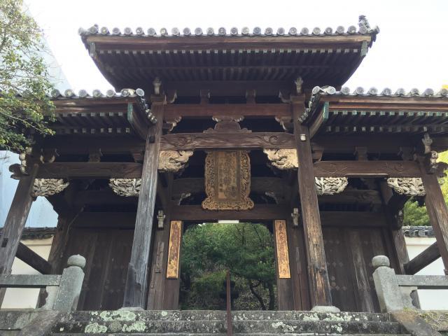 聖福寺の山門