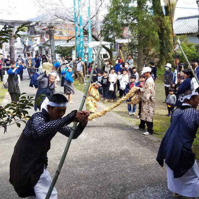 廣埜神社のお祭り