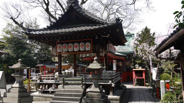 京都府武信稲荷神社の本殿