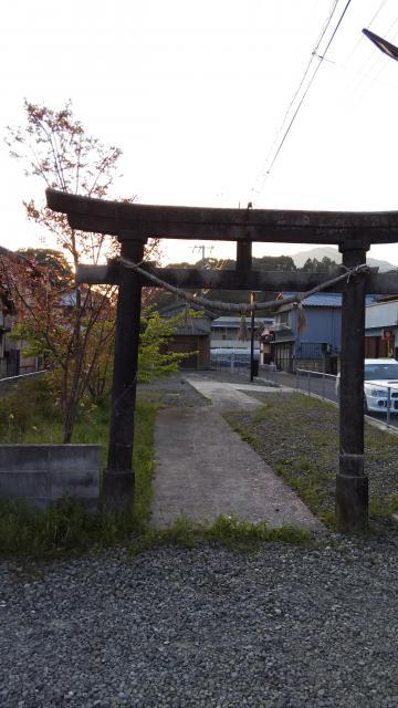 高知県須賀神社の鳥居