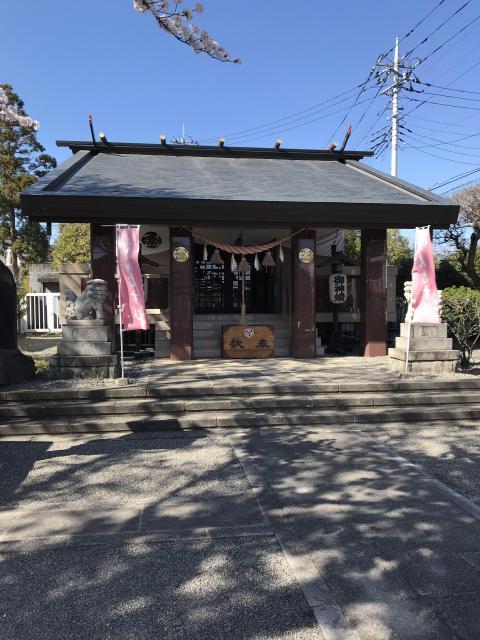 群馬県小石神社の本殿
