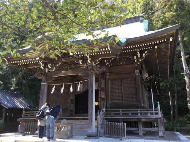 神奈川県御霊神社の本殿
