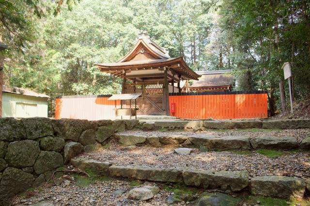 御蔭神社の本殿