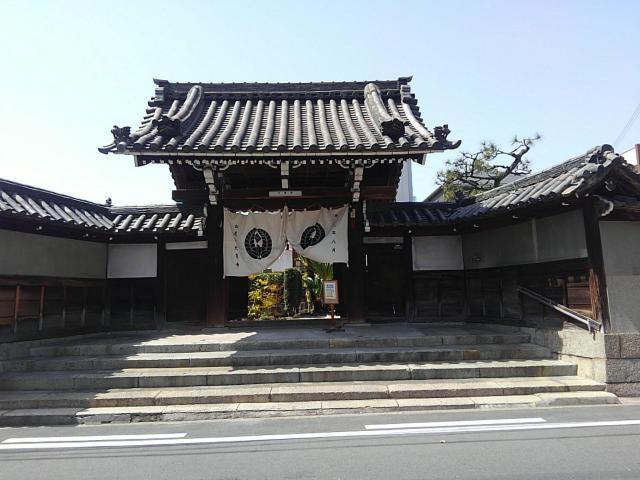大乗寺の山門