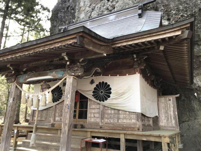中之嶽神社の本殿