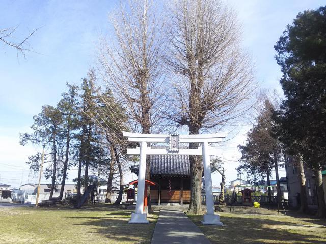 埼玉県伊原八幡神社の鳥居