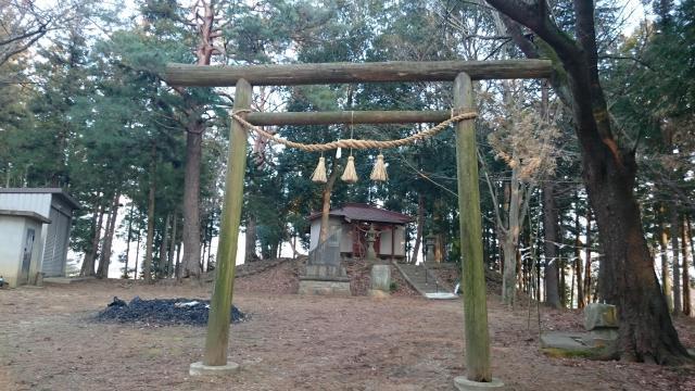 福島県鏡石神社の鳥居