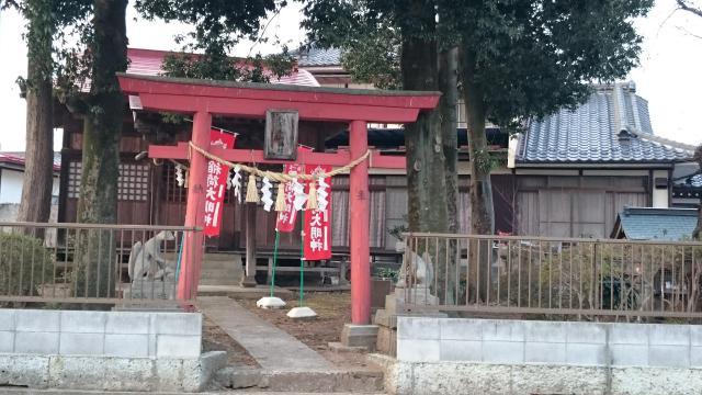 福島県北原稲荷神社の鳥居