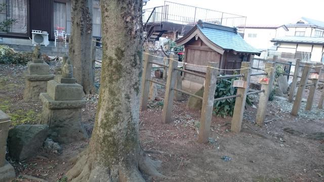 福島県北原稲荷神社の建物その他