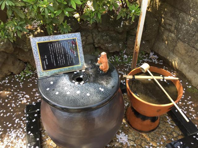 泉岳寺の手水