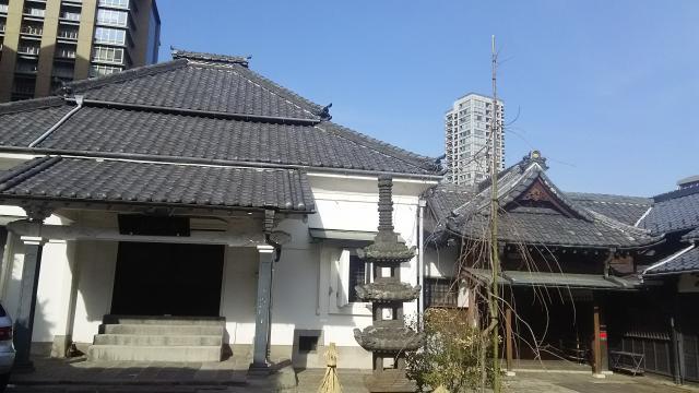 講安寺の本殿