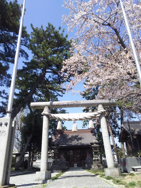 埼玉県稲荷神社(弥十郎稲荷)の鳥居