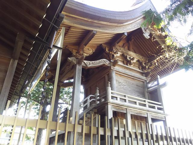埼玉県稲荷神社(弥十郎稲荷)の本殿