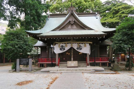 静岡県今宮神社の本殿