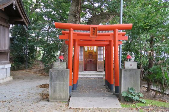 静岡県今宮神社の鳥居