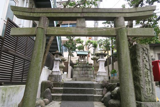 静岡県大六天尊神社の鳥居