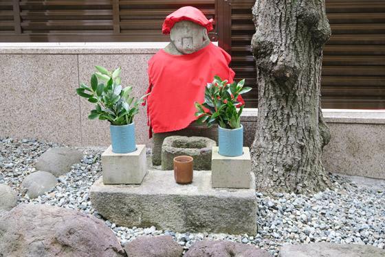 静岡県大六天尊神社の地蔵