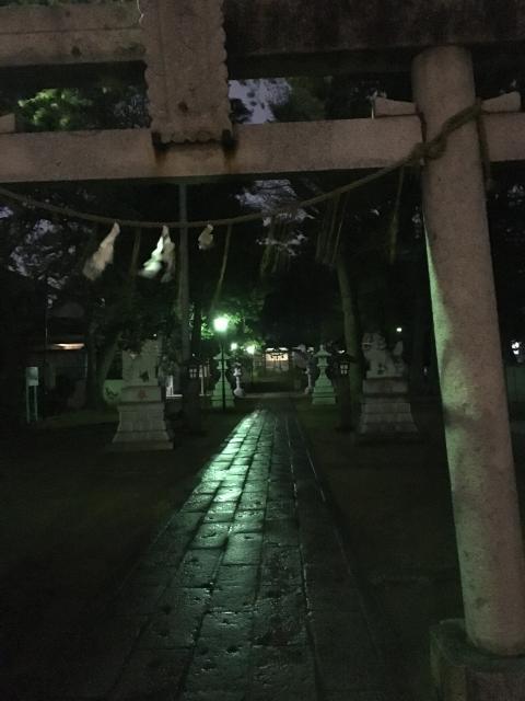 譽田八幡神社(千葉県京成大久保駅) - 鳥居の写真