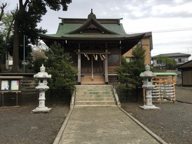 神奈川県熊野社の本殿