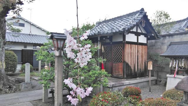 京都府安楽寺天満宮の本殿