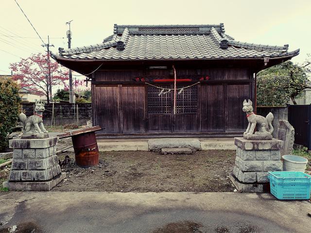 日比谷稲荷神社の本殿
