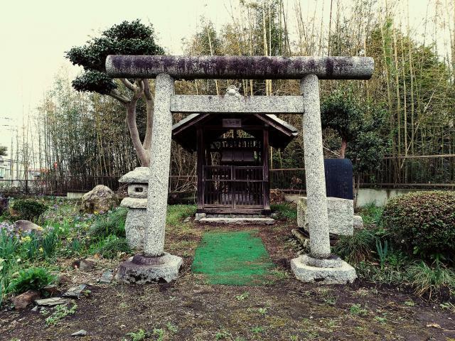 龍田神社の鳥居