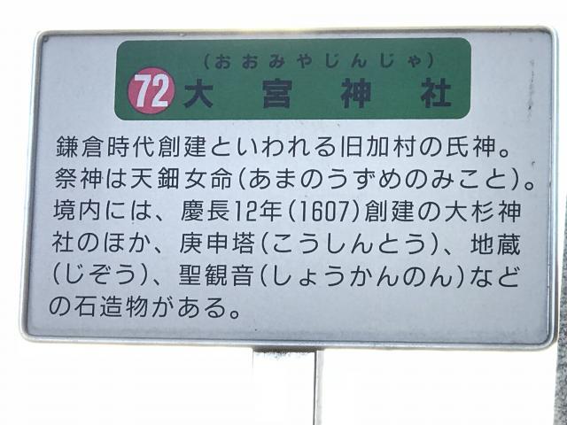 千葉県大宮神社の写真