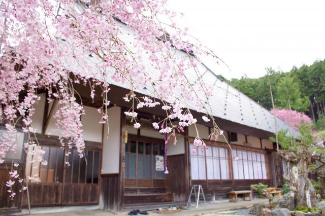 京都府宝泉寺の本殿