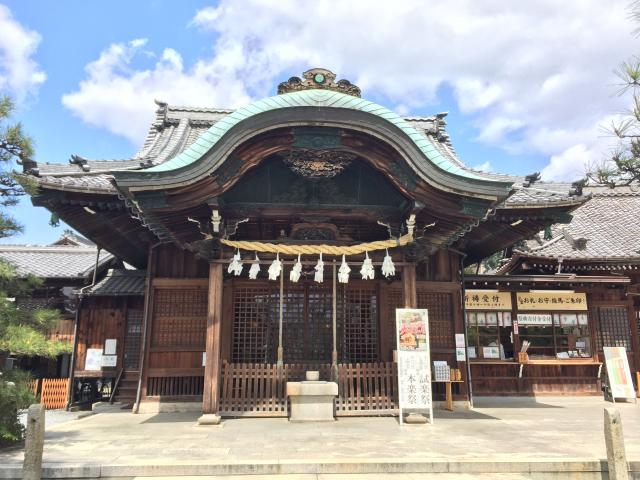 岐阜県大垣八幡神社の本殿