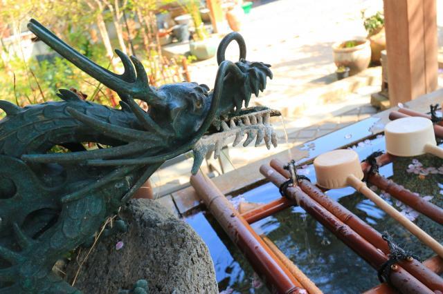 龍峰寺の手水
