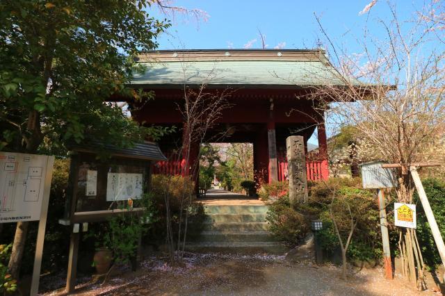 龍峰寺の山門