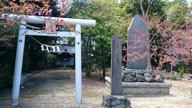 福島県子鍬倉神社の鳥居