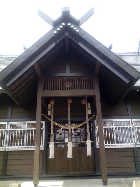 北海道花畔神社の本殿