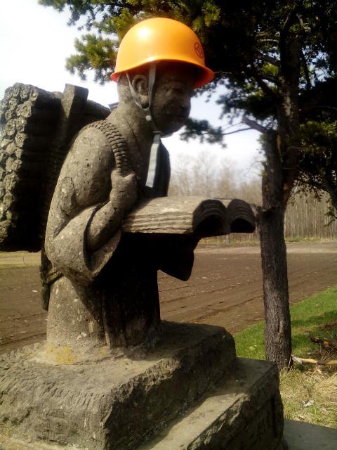 樽川神社の像