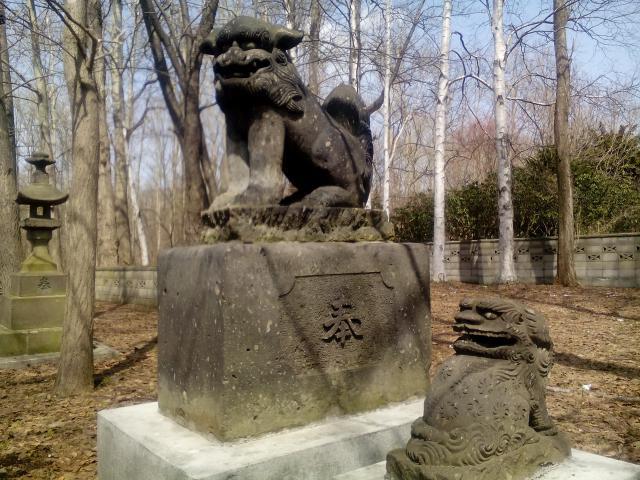樽川神社の狛犬